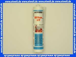Silikon Rot hochtemperaturbeständig bis 285 °C rot 310 ml Kartusche
