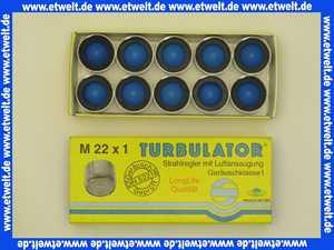 10 x Strahlregler Mischdüse Luftsprudler Siebeinsatz Siebchen 22x1 Innengewinde