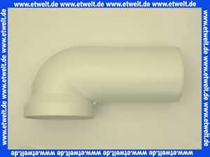 752261 Abu WC - Ablaufbogen 90 ° DN 100 in Edelweiß