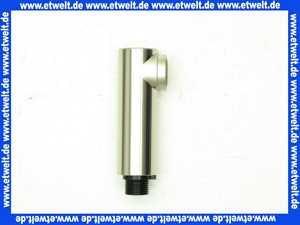 968310420001 Arwa Zugauslauf Twin mit RV, Satin-Nickel