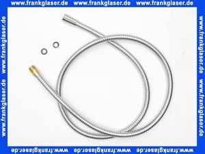 960273100 Arwa Twin Metallschlauch in chrom 3/8x3/8x1500mm