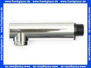 968310100001 Arwa Twin Zugauslauf mit Rückflussverhinderer chrom