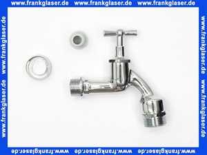 Auslaufventil Zapfhahn Wasserhahn 1/2  verchromt