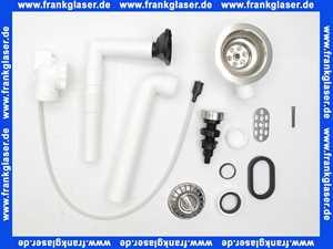 217070 Blanco Ab und Überlaufgarnitur für Spülbecken