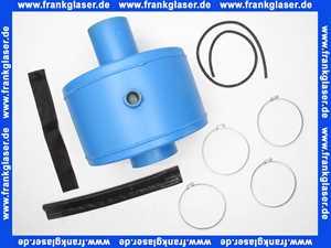 5074020 Buderus Abgasschalldämpfer Schalldämpfer Stahl DN130 komplett