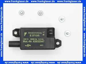 63006426 Buderus Taktzündeinrichtung E3713 S02 schwarz