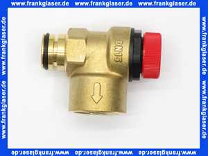 7100888 Buderus Sicherheitsventil 3bar steckbar Linea Single 11