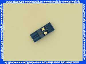 7747023963 Buderus Anschlussklemme 2-pol FA blau everp