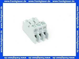 7747023985 Buderus Anschlussklemme 3-pol.PS Pumpe grau ever