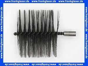 80392185 Buderus Kesselbürste, M10 IG, 120 x 50 x 100mm ohne Stiel, mit Drahtbesatz