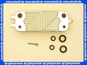87186402310 Buderus Wärmetauscherplatte