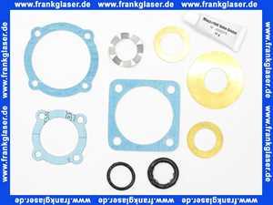 019001030 Dichtungssatz für Centra Mischer ZR... und DR... passend für Mischer der Größen DN 15 - 40 sowie DRU.... ab Baureihe 1999 DN 15 - DN 32