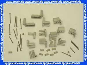 036553 Clivia-Top Scharniersatz f. BW-Faltrad 3-teilig