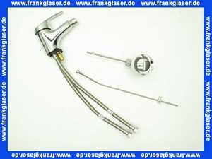 Einhand-Bidet-Armatur Clivia Eco mit Ablaufgarnitur verchromt B9299AA