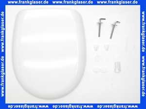 36B191B0202Y Concept WC-Sitz 200 mit Deckel, mit Edelstahl-Scharnier, weiss