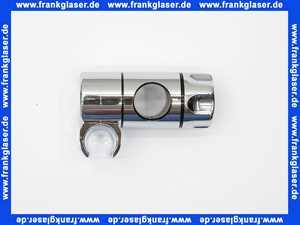 6153505 Concept Schieber Brausehalter für Dusch Wandstange mit 25mm Durchmesser verchromt 61535