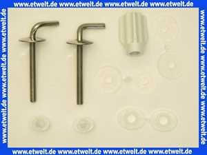 B0202Y Concept WC-Sitz Scharnier zu Modell 96 und Concept-Sitz 100/200, edelstahl