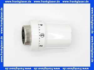 Concept Thermostatkopf weiss M30 X 1.5 für Heizkörperthermostat, flüssigkeitsgesteuert