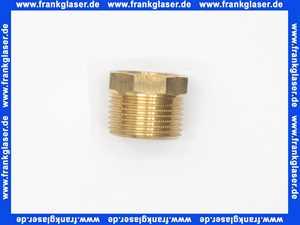 266479 Reduzierstück Rotguss 1 Zoll x 3/4 Zoll