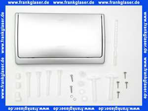 37053P00 Abdeckplatte Drückerplatte mattverchromt Grohe DAL Classic für WC UP-Spülkasten alte Nr. 06.11.8510