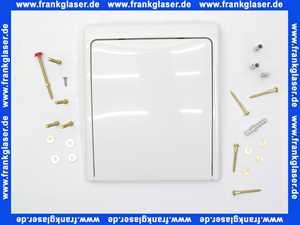 43179 Grohe DAL Abdeckplatte Drückerplatte Betätigungsplatte weiß komplett für UP - WC - Druckspüler