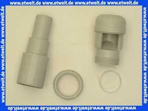 904850218 Dallmer Rohrbelüfter DN40/50 für Abwasserleitung mit Anschlussadapter DN32/DN50