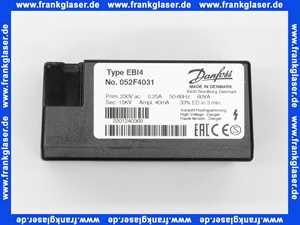 052F4031 Danfoss Zündeinheit Typ EBI 4 230 V 50/60 Hz, 2-polig
