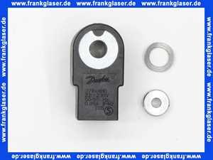 071N0010 Danfoss NC Spule 220/240 V a.c. Feder- scheibe und Mutter (0071N0051 Spule)