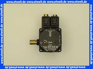 071N2204 Danfoss Ölbrennerpumpe 2-stufig, 2 eingebaute Magnetventile.Öldruck Stufe 1: 7-15 bar, Öldruck Stufe 2: 10-25 bar 230 V, 50/60 Hz, BFP Typ 5