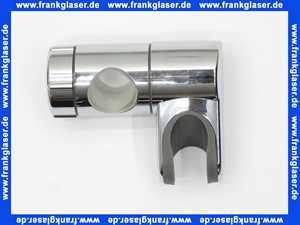 62535 Diana Gleitschieber verchromt zu Diana Wandstange neue Ausführung 23 mm Stangendurchmesser