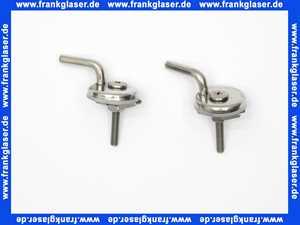 0061691000 Duravit Darling New Scharniersatz WC-Sitz ohne Absenkautomatik