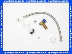 0075041000 Duravit Nachrüstgarnitur für Umbau von Anschluss verchromt