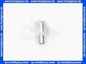 26523 Duravit Glasfachbodenträger Bodenträger Träger für Einlegeboden Glasboden