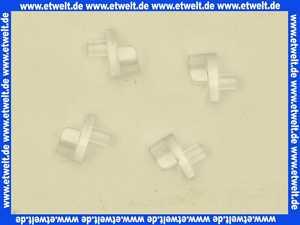 28894 Duravit Happy Day Träger Relinghalter für Einlegestangen VPE4St