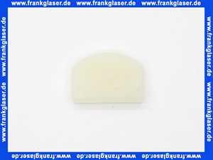 23970 Duscholux Gummi Einlegeteil für Duschabtrennung Duschtüre Glastüre Dusche Scharniergummi