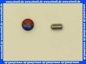 44076600 Eichelberg Schraube und Griffstopfen für Griffbefestigung 1 Stück