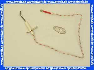 ELCO 12035262 Ionisationsstab 80 lang D 3x 37 Porzellan