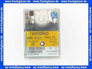 1758287874 Elco Gasfeuerungsautomat Relais ohne Sockel MMI 810.1 MOD.33