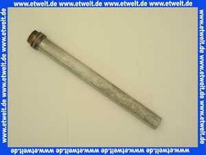 4446020700 Elco Klöckner Magnesiumanode Schutzanode Opferanode Anode D33 x 420 mm - G1 1/4