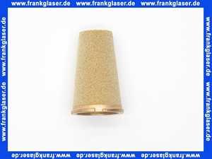 Sinterbronze-Filtereinsatz Sika 0, 50-100my