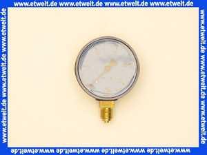 Öldruckmanometer ohne Glyzerindämpfung 0-25bar  63 mm 1/4 unten - Klasse: 1,6