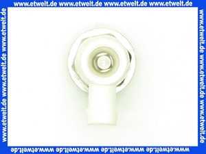 Heizkörper Entleerungsstopfen drehbar 1/2  mit O-Ring mit großem Durchlaß