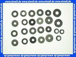 Maxi Spülkasten-Membranen Sortiment mit Aufbewahrungs-Etui