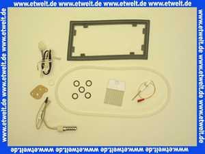 Wartungsset Wartungssatz für Buderus GB112 11-24 KW für die jährliche Wartung komplett mit Glühzünder, Ionisationselektrode und Dichtungen für den Brenner, Wärmetauscher und die Kondensatwanne