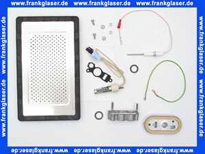 Wartungsset Wartungssatz für Buderus GB162 15-25 KW für die jährliche Wartung komplett mit Glühzünder, Ionisationselektrode und Brennerdichtung mit Luftverteilerplatte