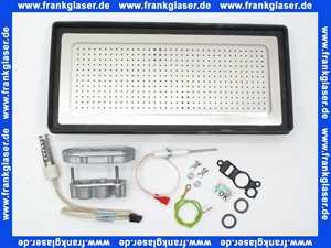 Wartungsset Wartungssatz für Buderus GB162 35-45 KW für die jährliche Wartung komplett mit Glühzünder, Ionisationselektrode und Brennerdichtung mit Luftverteilerplatte