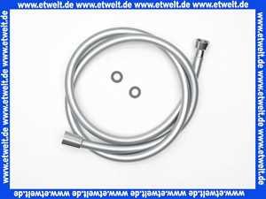 Brauseschlauch Duschschlauch 150cm 1/2 konisch x 1/2 Zoll Mutter Superlux chrom