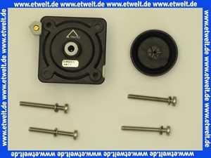 336201 Friatec Urinal-Ventiloberteil für Handauslösung (Metallausführung)