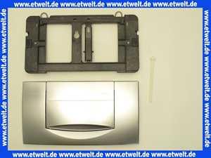 115222461 Abdeckplatte Geberit 200F seidenglanz-verchromt für UP-Spülkasten