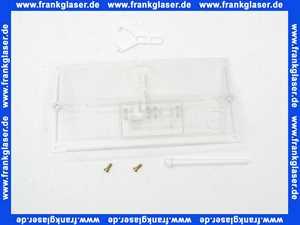 24002600 Geberit Schutzplatte transparent mit Betaetigungshebel für UP- Spülkasten
